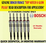 For BOSCH GENUINE BMW X3 X5 X6 3.0 DIESEL E83 E53 E70 E71/72 GLOW PLUG PLUGS X6